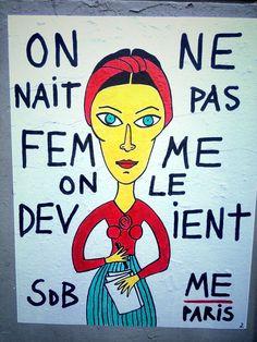 Me Paris - street art - rue st merri, paris 4