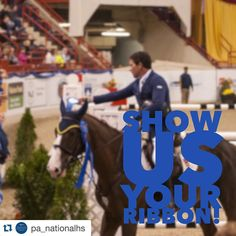 #Repost @pa_nationalhs .  Did you take home a ribbon from the #70thPNHS ? Tag us in a photo of where your ribbon and/or other awards from the 70th show are at right now! We'll repost all of your ribbon photos on our account! #PNHSRewind #PNHSAwards