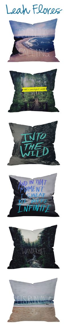 Leah Flores Pillows!!! She is the talent behind these beautiful designs