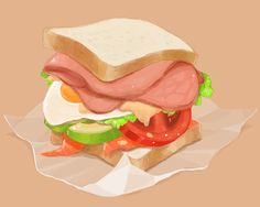 Sandwich DayWhat day is today?: - pixiv Spotlight