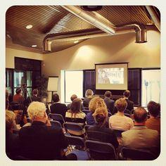 Kijken naar de openingsfilm op #cpo036 #Almere #AlmerePoort #Plankostenfonds