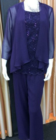 Pant Suit 26   Isabella Fashions   Mother of the bride dresses, plus sizes, and evening wear