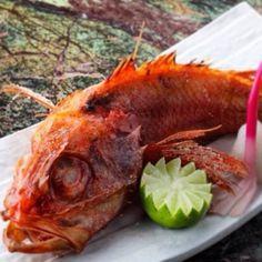 Японский деликатес - глубоководный окунь кинки