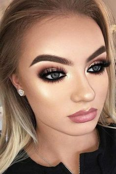 + Hottest Smokey Eye Makeup Ideas 2018 ★ See more: http://glaminati.com/sexy-smokey-eye-makeup/