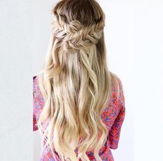#backtoschool #hairstyle #braided #crown #fishtail