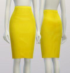 Rusty Nail: Pencil dress skirt