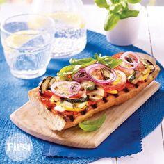Sizzlin' Summer Veggie Pizza