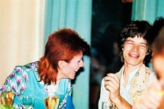 Thanks for the feature, Flaunt! #TheGoodTimesIssue David Bowie Mick Jagger http://flaunt.com/art/rock-will-roll.