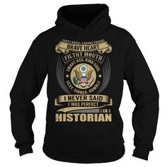 Historian Job Title T Shirts, Hoodies. Check price ==► https://www.sunfrog.com/Jobs/Historian--Job-Title-Special-Black-Hoodie.html?41382