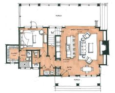 Mulberry Mill Main Floor - Natural Element Homes