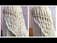 YouTube Chignon Simple, Dreadlocks, Hair Ties, Braided Hairstyles, Braids, Long Hair Styles, Easy, Accusations, Style Ideas