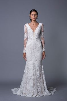 Zoe Long Sleeved Wedding Dress from Lihi Hod's 2017 Collection