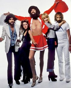Fleetwood Mac in Rolling Stone magazine, 1978.