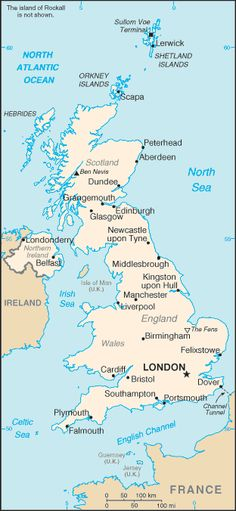 Country Maps: England Map