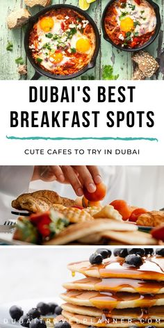 Dubai's 8 Best Breakfast Places You Need to Try in 2020 · Dubai Travel Planner Good Breakfast Places, Best Brunch Places, Best Breakfast, Dubai Travel Guide, Travel Tips, Travel Guides, Dubai Vacation, Middle East Food, Dubai Food