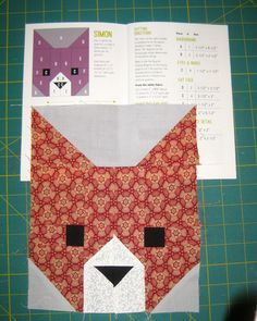 For Christmas I received Elizabeth Hartman's quilt pattern The Kittens. I…