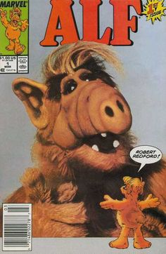 Alf Published by Marvel. Started in 1988 TV's space alien got his very own Marvel Comic, lasting for a big 50 issues. Comic Books For Sale, Online Comic Books, Vintage Comic Books, Marvel Comic Books, Vintage Comics, Marvel Comics, Vintage Ads, Alien Life Forms, Midtown Comics