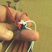 Chesapeake Bay Lifesaver Bracelet and Star knot
