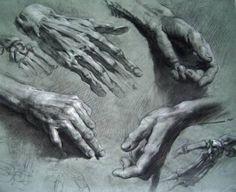 Академический рисунок ног и рук. | Наука для всех простыми словами