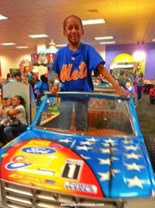 What I liked about our experience at Chuck E. Cheese's is that Angel was able to find something that he liked and he was able to enjoy it. #autism #chuckecheeses