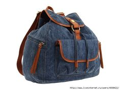 Old school backpack tutorial this looks good, just a bit taller for folders, drawstring or zipper top? Drawstring would need grommet supplies. Denim Backpack, Denim Bag, Backpack Bags, Canvas Backpack, Backpack Tutorial, Backpack Pattern, Jeans Recycling, Mochila Jeans, Recycled Denim