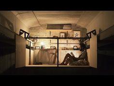 Fernando Abellanas creates secret studio under a bridge in Valencia