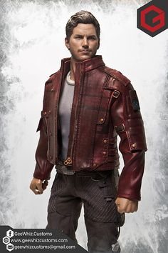 Custom 1/6 Scale Star-Lord Short Jacket | por Bleau Aquino