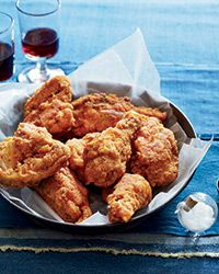 The Ultimate Southern Fried Chicken. That's similar to how my Savannah grandmother did it.  Paprika instead of red pepper. Matzah meal instead of flour for Passover is the best.