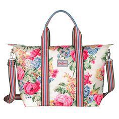 Bloomsbury Bouquet Foldaway Overnight Bag | Cath Kidston |