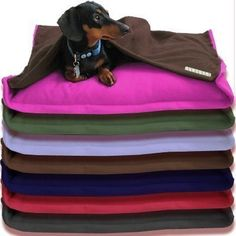 Eco Pet Bed  Recycled Fleece  Build Your Own by anniessweatshop, $60.00