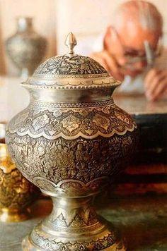 Persian Handicrafts - Isfahan, Iran