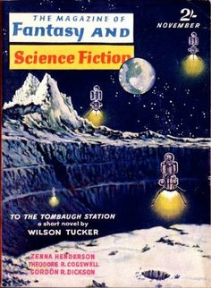 The Magazine of Fantasy and Science Fiction – (July 1960) … | Flickr - Photo Sharing!