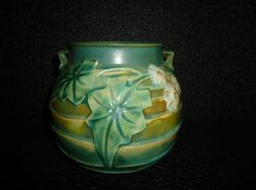 Pottery & Glass Bennington Pottery Vermont Green Mug 4 Inches Tall Shot Gun Handle 1840 Cool In Summer And Warm In Winter Pottery & China