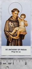 Vintage card: St. Anthony of Padua Pray for Us