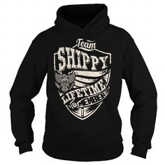 I Love Last Name, Surname Tshirts - Team SHIPPY Lifetime Member Eagle T shirts