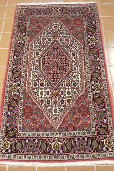 NR: 19948 Location: Bidjar Size: x Country: Iran Pile: Wool Base: Cotton Persian Carpet, Persian Rug, Wool Thread, Paisley Pattern, Floral Motif, Rugs On Carpet, Iran, Runners, Bohemian Rug