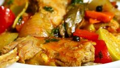 Pečený králik so zeleninou Shrimp, Meat, Chicken, Food, Essen, Meals, Yemek, Eten, Cubs