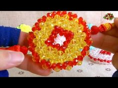 How to bead funny acceceroy: coins 1/2 - YouTube