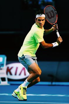 Roger Federer Australian Open 2015 Sport Outfits, Tennis Outfits, Match Point, Sport Tennis, Tennis Stars, Australian Open, Tennis Clothes, Living Legends, Serena Williams