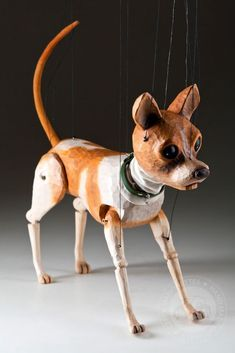 foto: Chihuahua Handcarved Marionette
