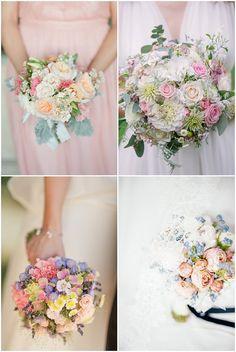 14 Ideen für euren Brautstrauß und welche Blumen wann verfügbar sind?   Hochzeitsblog - The Little Wedding Corner