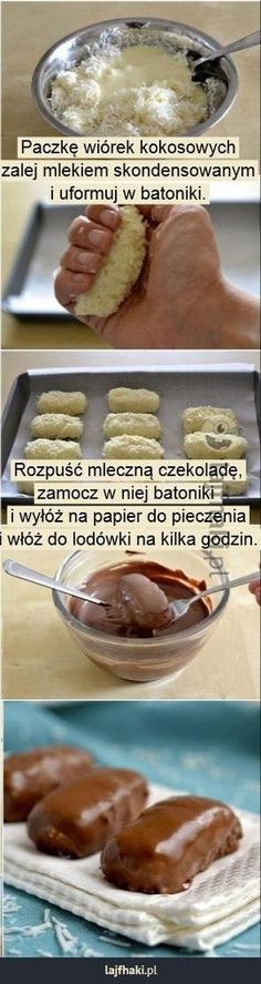 Oto najpopularniejsze trendy w Pinach w tym tygodn. Sweet Recipes, Cake Recipes, Dessert Recipes, Vegan Fast Food, Delicious Desserts, Yummy Food, Diy Food, Love Food, Food To Make