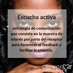 #Diccionario de términos en #Mediación: 'ESCUCHA ACTIVA'