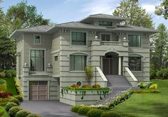 Secluded Master Suite with Private Deck - 23147JD | Architectural Designs - House Plans