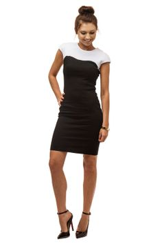So flattering, our Monochromatic Dress $89. www.masse.com.au - Great quality workwear for the office #workwear #style #summer #office #blackandwhite #blog Summer Office, The Office, Style Summer, Workwear, Store, Blog, Outfits, Dresses, Fashion