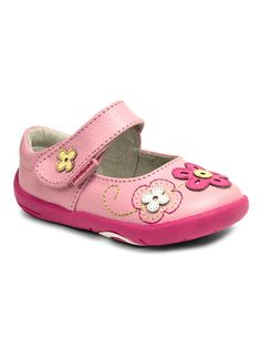 pediped Infant girls lorraine first shoe, Pink