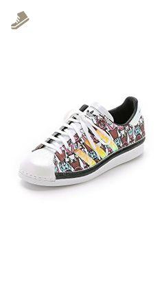 adidas Originals by Mary Katrantzou Women\u0027s MK Superstar \u002780s Badges  Sneakers, Multi, 8.5