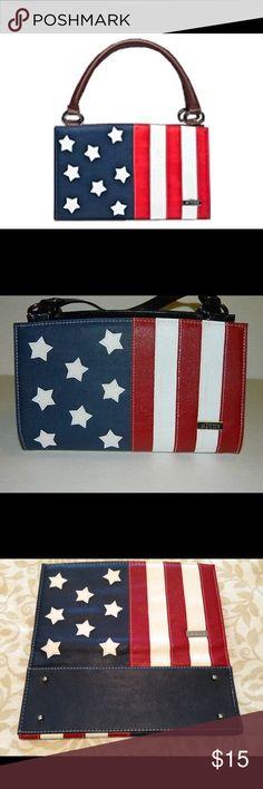 MICHE Retired Liberty Flag Classic Shell MICHE Classic Shell LIBERTY Flag Retired Used in Great Condition. Miche Other