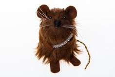Star Wars Chewbacca ornament Artisan mouse rat by TheHouseOfMouse