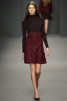 Calvin Klein Collection, Look #6